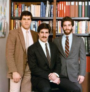 Steve, Tom and Bill Karol